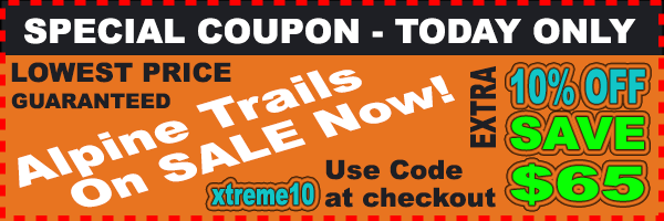 Xtreme Alpine Trails 10 Percent Off Coupon Lowest Price Online ElectriCity Cycles