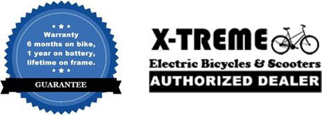 X-Treme Electric Bicycles Warranty and Authorized Dealer