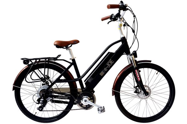 e-JOE Gadis 500W 48V Comfort Cruiser Step-Through eBike
