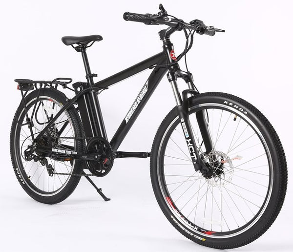 X-Treme Trail Maker Elite Max 36 Volt Mountain eBike Black Right Side Angle