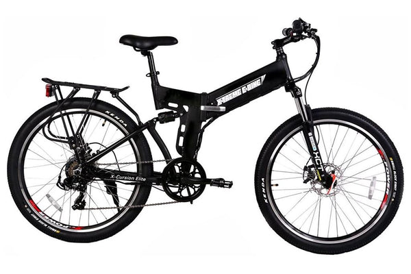 X-Treme X-Cursion Elite Folding Full Suspension Mountain eBike Right Side