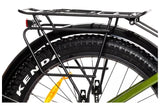 Biktrix Juggernaut Classic Fat Tire Mid Drive eBike Rack and Fenders