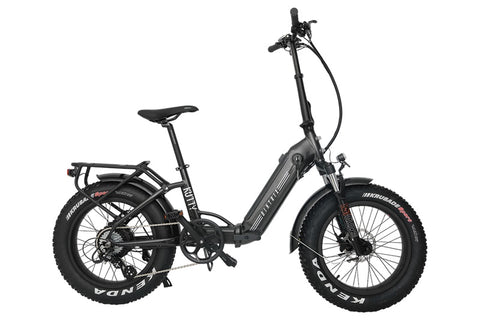 Biktrix Kutty X 500W 48V Folding Fat Tire eBike Charcoal Right Side