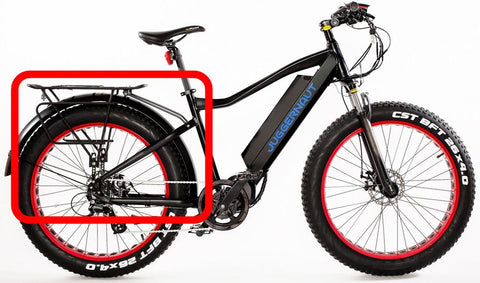 Rear Rack for Biktrix Fat Tire eBikes - ElectriCity Cycles