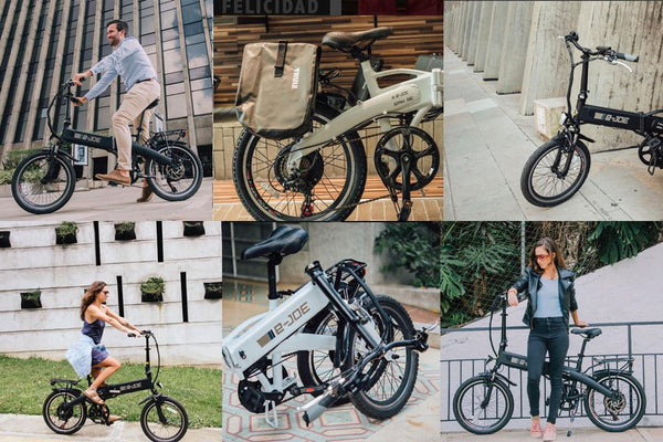 e-JOE Epik SE Folding Commuter eBike Lifestyle