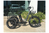 Emojo Caddy Pro Fat Tire 500W 48V Electric Tricycle Grey Right Side