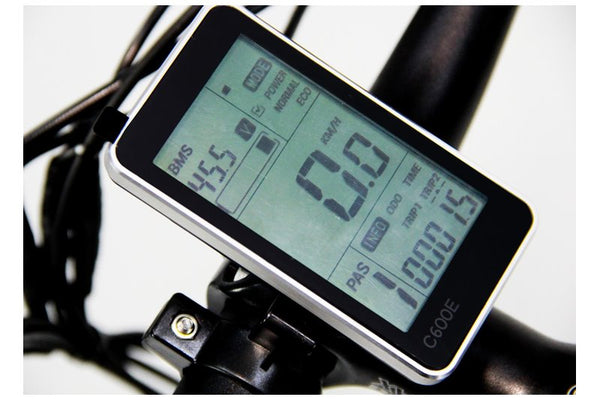 Emojo Cougar 48V 500W Full Suspension Mountain eBike LCD Display