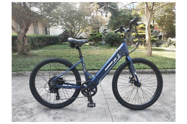 Emojo Runner X Flyer 500W 36V Cruiser Step-Through eBike Right Side