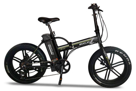 Emojo Lynx Pro Sport 500W 48V Folding Fat Tire eBike Black Right Side