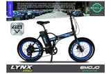 Emojo Lynx Pro 500W 48V Folding Fat Tire eBike