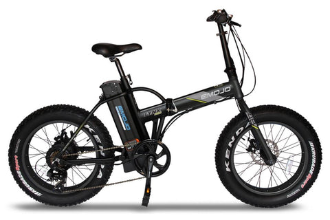Emojo Lynx Pro 500W 48V Folding Fat Tire eBike Black