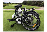 Green Bike USA GB1 Folding Commuter eBike Folded 2