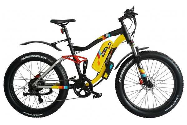 GreenBike - Electric Motion Enduro PHAT 750W 48V Full Suspension Mountain eBike Right Side