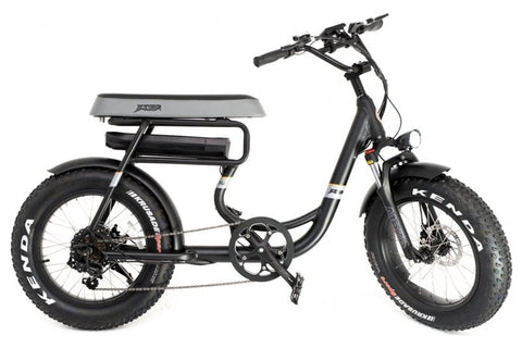 GreenBike - Electric Motion Mule 2021 Edition 500W 48V Fat Tire Folding eBike Right Side