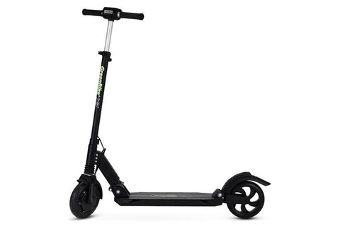 GreenBike - Electric Motion X1 500W 37.4V Folding Electric Scooter Black Left Side