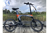 Green Bike USA GB Carbon Light Folding eBike Lifestyle 1