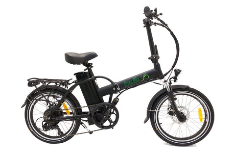Green Bike USA GB1 Folding Commuter eBike Black Matte Right Side
