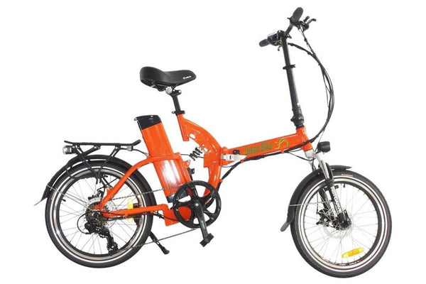 Green Bike USA GB500 Folding Commuter eBike Orange Right Side
