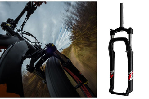 Mozzo Suspension Fork for Biktrix Fat Tire eBikes - ElectriCity Cycles
