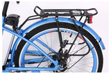 X-Treme Malibu Elite Step-Through Beach Cruiser eBike Aluminum Rear Rack