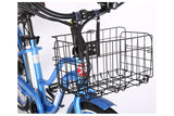 X-Treme Malibu Elite Step-Through Beach Cruiser eBike Folding Basket