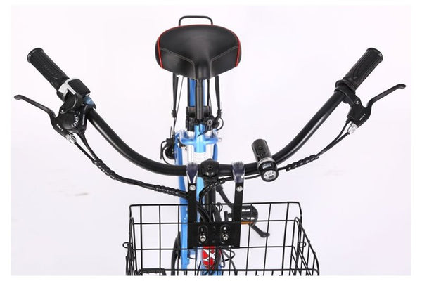 X-Treme Malibu Elite Step-Through Beach Cruiser eBike Wide and Long Beach Cruiser Handlebars