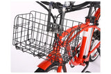 X-Treme Newport Elite Beach Cruiser eBike Folding Basket