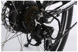 X-Treme X-Cursion Elite Max 36 Volt Folding Full Suspension Mountain eBike Derailleur Gears