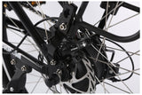 X-Treme X-Cursion Elite Max 36 Volt Folding Full Suspension Mountain eBike Rear Disc Brakes