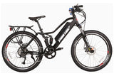 X-Treme Sedona 500W 48V Full Suspension Mountain Step Through eBike Black Right Side