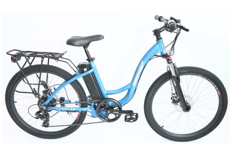 X-Treme TC-36 350W 36V Step-Through Commuter Mountain eBike