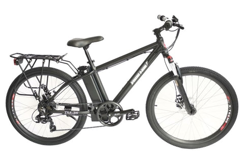 X-Treme TM-36 350W 36V Mountain eBike Black Right Side