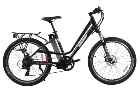 X-Treme Trail Climber Elite Max 36V Step-Through Commuter Mountain eBike Black Right Side