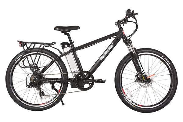 X-Treme Trail Maker Elite 24V Mountain Commuter eBike Black Right Side