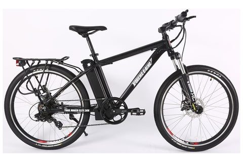 X-Treme Trail Maker Elite Max 36 Volt Mountain eBike Black Right Side