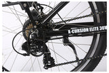 X-Treme X-Cursion Elite Max 36 Volt Folding Full Suspension Mountain eBike Derailleur