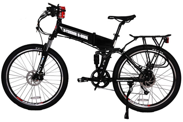 X-Treme Baja 48V 500W Folding Full Suspension Mountain eBike - ElectriCity Cycles