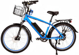 X-Treme Santa Cruz 500W 48V Cruiser Commuter eBike - ElectriCity Cycles