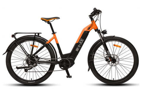 e-JOE Jade 750W 48V Comfort Cruiser Step-Through eBike Right Side