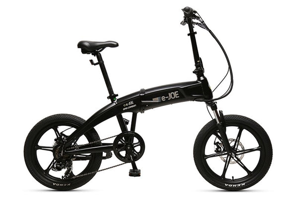 e-JOE Epik Carbon 500W Folding Cruiser eBike Black Matte Right Side