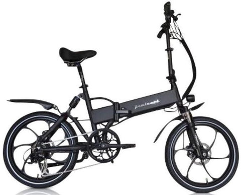 Joulvert Stealth Folding Full Suspension eBike - ElectriCity Cycles