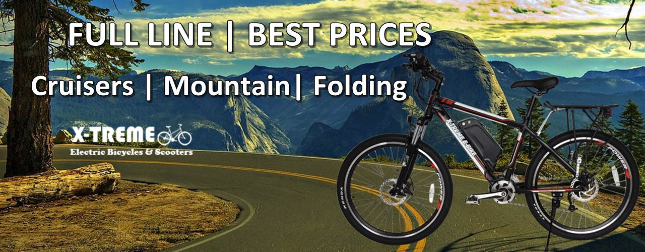 Xtreme eBikes Sale Lowest Price Online