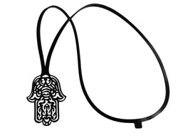 Evil eye amulet, ladies necklace, length: 325 mm