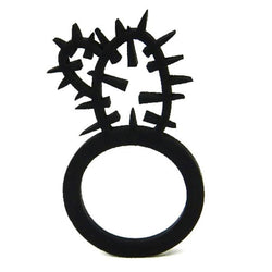 Cactus ring, ladies ring, sizes: 50, 53, 57