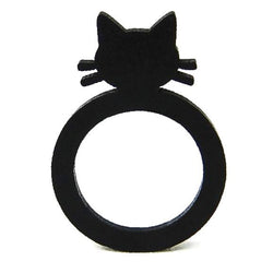 Cat ring, ladies & children ring, sizes: 44, 47, 50, 53