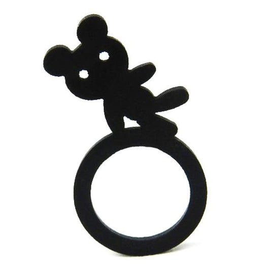 Teddy bear ring, ladies & children ring, sizes: 44, 57