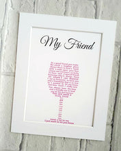 Friend Gift - for Wine Lover