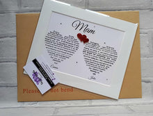 Mother of the Bride gift from Bride and Groom