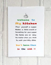 Kitchen wall art