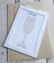Friend Gift - Personalised Bubbles unframed 7x5 print